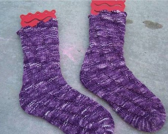 Pattern - Toe-up Socks with No Heel