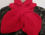 """Red Scarf   40""""L"""