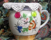 Doily Pitcher Cover