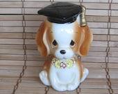 Vintage Lefton Doggy Bank