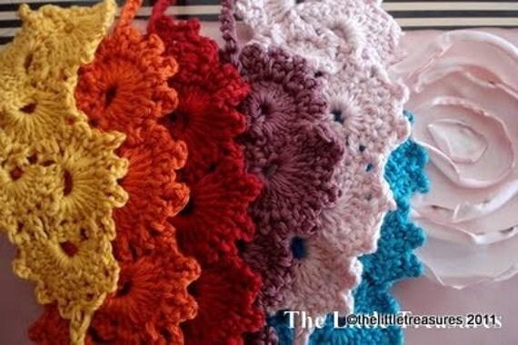 PDF Crochet Pattern - Royal Crocheted Headband - crocheted headpiece - instant download- crocheted headband, Queen Anne's Lace crochet