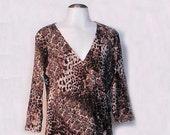 Faux Leopard Shirt