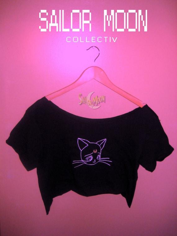 Sailor Moon Kitty Crop Top