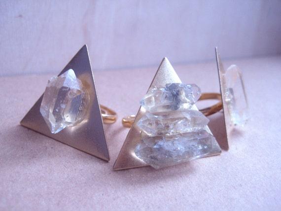 Crystal Power Rings