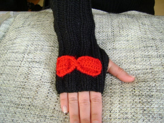 Spice Fingerless Gloves Arm Warmer...