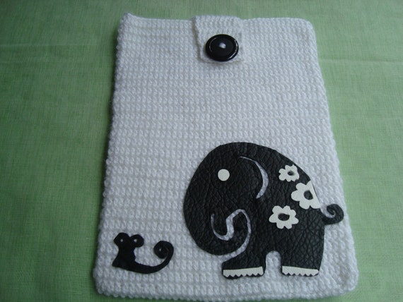 Crochet Patterns Made With Cotton Yarn : Crochet Ipad Case... Made With Cotton Yarn Ipad Pouch or Tablet Case ...