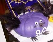 Baltimore Ravens - Todd Heap no. 86 pumpkin