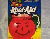 fun KOOL-AID drink tropical punch & lime vintage package art magnets