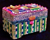 25 DOLLARS OFF -  Fiesta Collage Box For Your Treasures