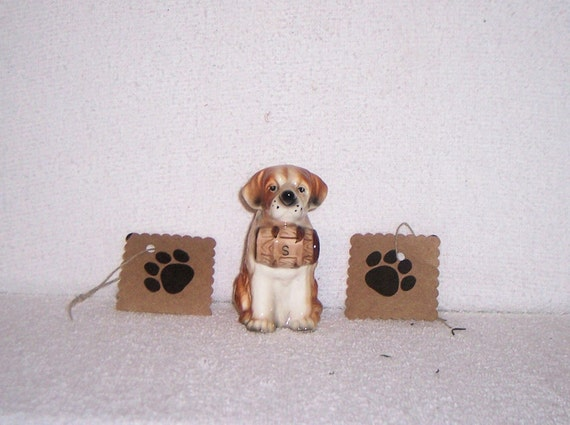 Gift Tag Dog Paw All Occasion 1 dozen