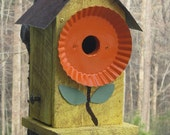 Whimsical Cedar Bluebird House