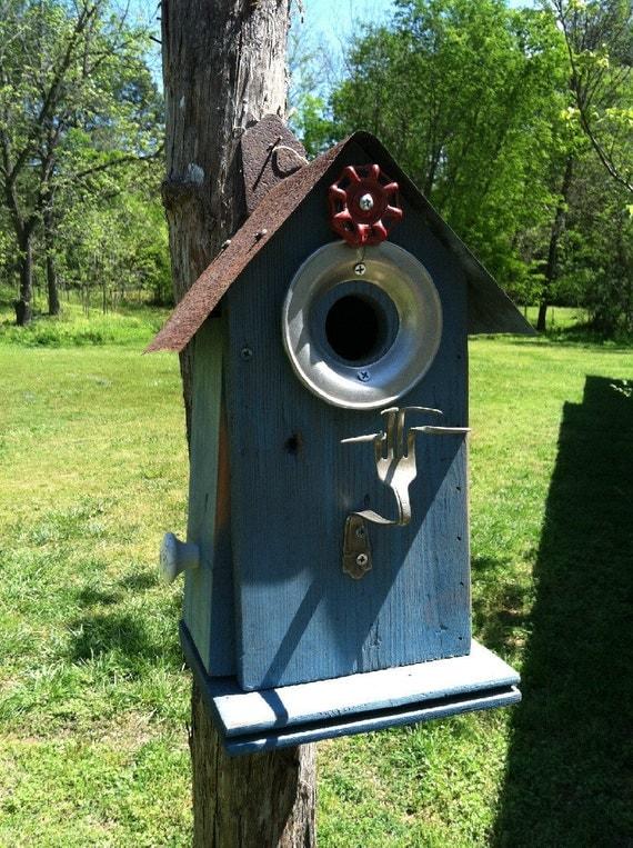 Whimsical Rustic Birdhouse