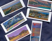 Set of Six  Art Notecards: Taking the Long Way Home
