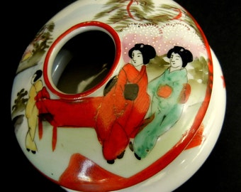 Charming VINTAGE Chinese/Japanese HAIR RECEIVER