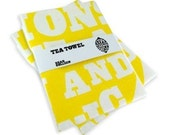 TWIN PACK - When Life Hands You Lemons - Tea Towel