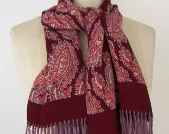 """40""""s PAISLEY SCARF by Currie"""