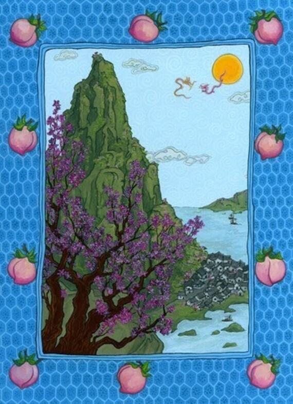 Fruitful Mountain Print
