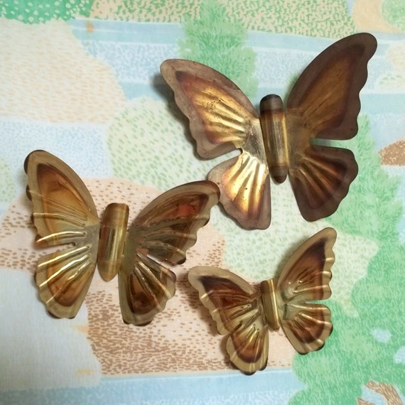 Pretty Metal Butterfly Wall Hangings