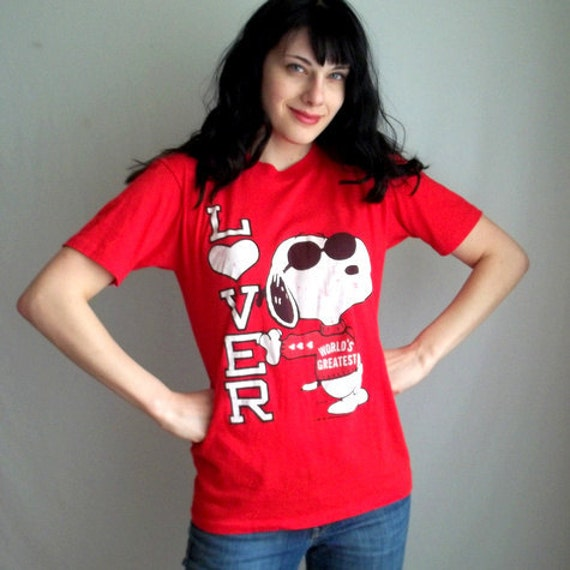 Worlds Greatest Lover Snoopy Shirt