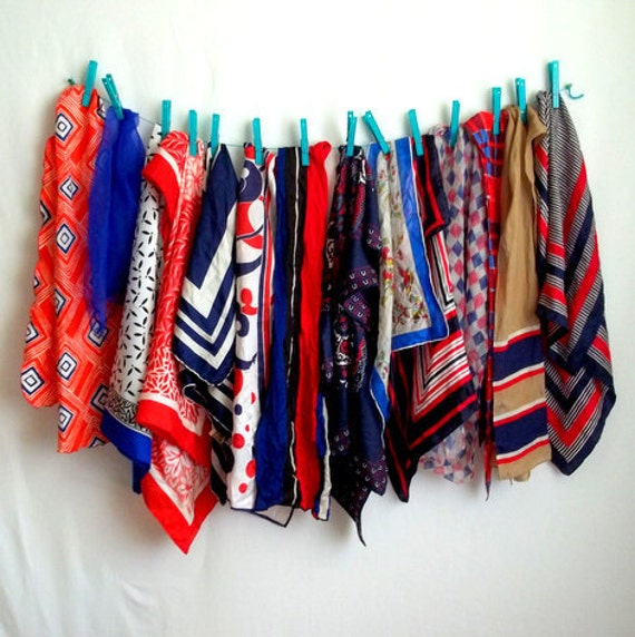 14 Red White & Blue Scarves