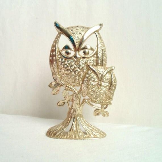 Owl & Baby Earring Holder