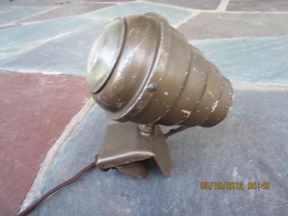 Vintage Retro Art Deco Industrial Clamp Lamp spotlight light