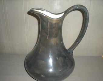 Art Pottery Vase Pitcher