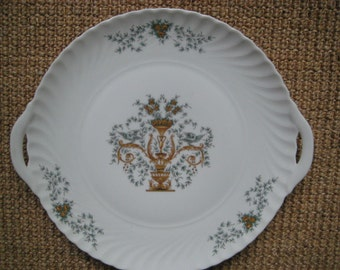 Blue and Gold Royal Tettau Platter - Bavaria Germany