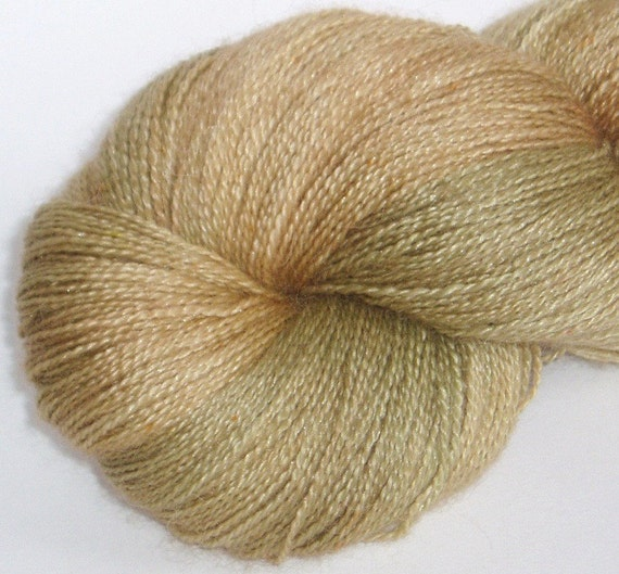 Papyrus lace baby alpaca/silk 80/20 hand-dyed lace weight yarn