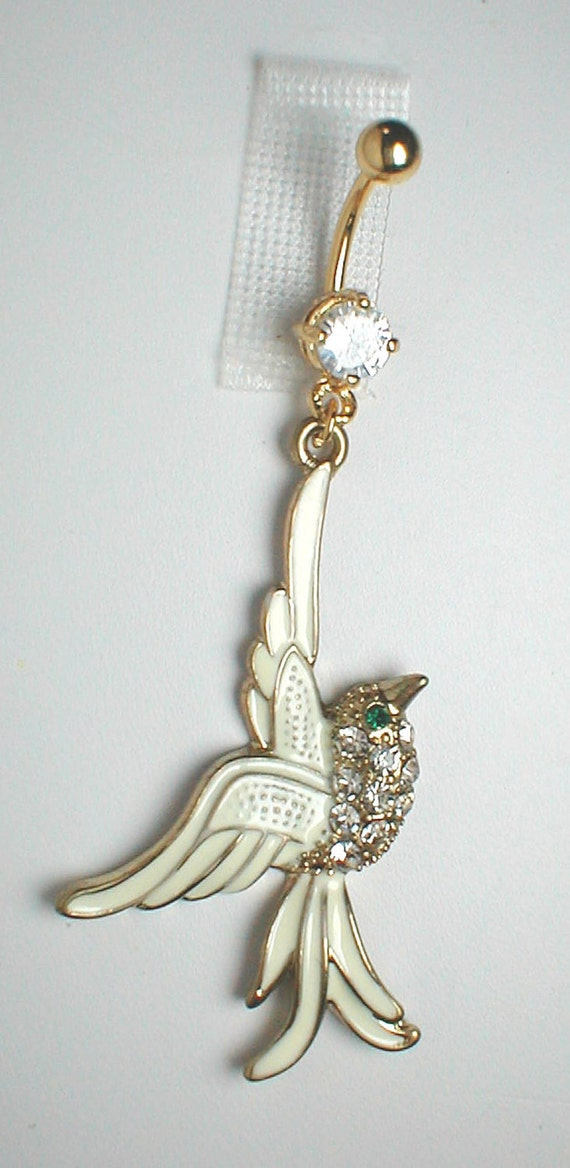 items similar to unique belly ring trendy fancy white