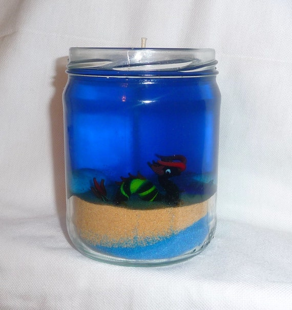 Sea Monster Gel Candle