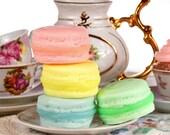 Wedding favor french macaron soap