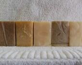Any 5 bars of Ivy Sky organic, soap