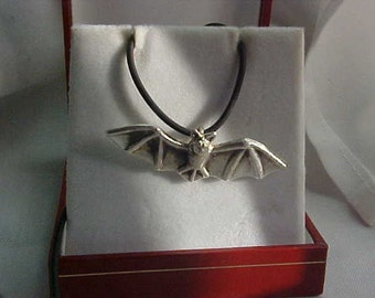 BAT Totem Pendant casting in Recycled Sterling Silver KAM Design