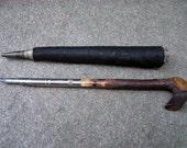 Umbrella-Shaped Dip Pen & Pencil. Antique.