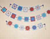 Sailor Birthday Banner (PRINTABLE)