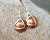 Recovery Earrings In Silver/Copper