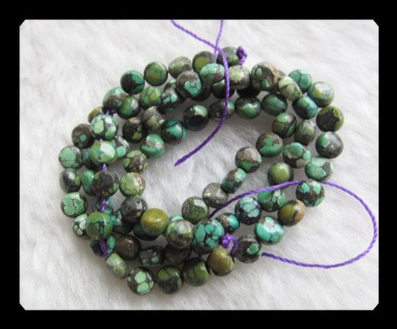 5x3mm,10.65g Turquoise Loose Beads,1 Strand,40cm in the Lenght