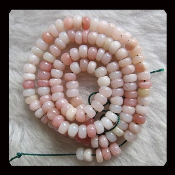 13.26g  Pink Opal Loose Bead,1 Strand,40cm In the Lenght