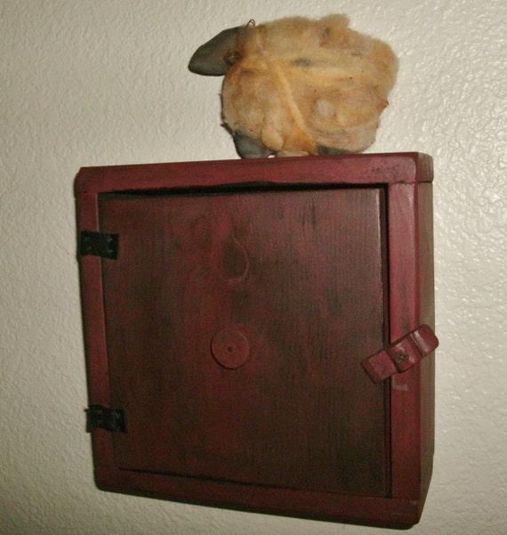primitive thermostat cover