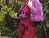 Easy to Knit Capelet - ADELE - PDF Download