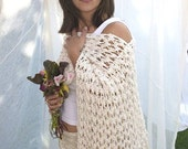 Silky Shawl - DAPHNE - Seamless Knitting - PDF Download