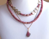 RESERVE: Tourmaline Layers Necklace