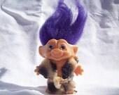 Vintage Caveman Troll Toy