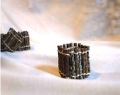 Twig Napkin Rings, Rustic Cabin, Autumnal Celebrations, price includes shipping