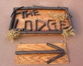 Custom Order, Rustic Signs for Inside or Outside, Permanent or Special Events