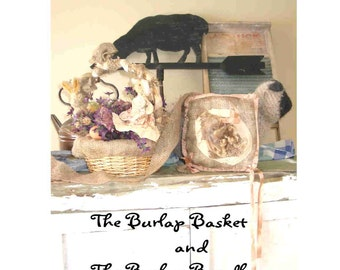 I TAKE EWE: 'The Burlap Bearer Bundle' , all-natural cushion for ring-bearer, suitable for dog , pony or child to carry, shipping incl.