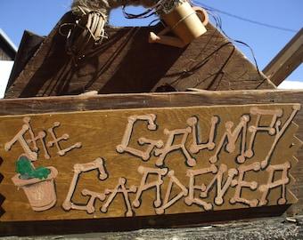 Springtime Gardener's Tote - the Grumpy Gardener
