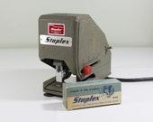 Vintage Industrial Electric Stapler by Staplex