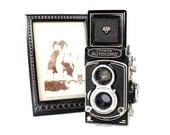 Vintage 1950s Minolta Autocord LMX TLR Camera